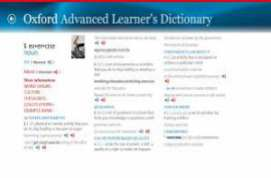 Oxford Advanced Learner's